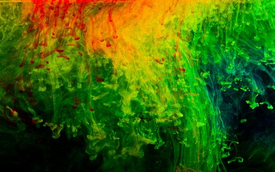 Photo free abstraction, black, green