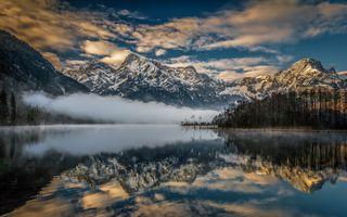 Альпийские отражения · бесплатное фото