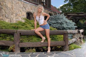 Фото бесплатно модель, Angela J, молодая