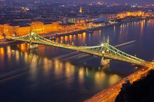 Фото бесплатно освещение, Венгрия, ночь