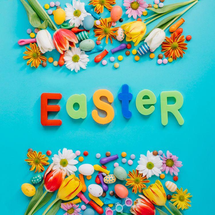 Фото бесплатно Пасхальные яйца, пасхальные обои, воистину воскрес - на рабочий стол