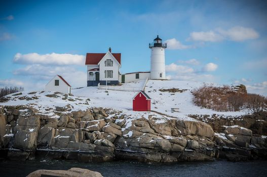 Заставки lighthouse, Nubble Light, York