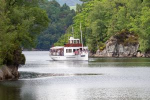 Заставки steamship,Trossachs,Scotland,UK