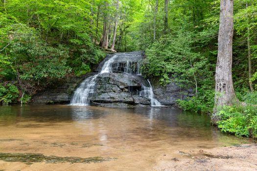 Фото бесплатно водопад, весна, Южная Каролина