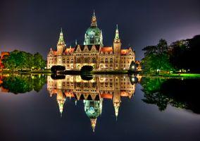 Фото бесплатно Германия, Ганновер, ратуша
