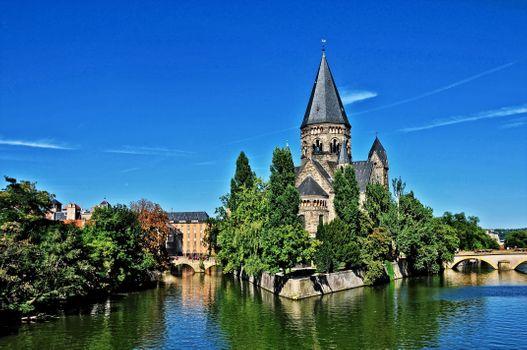 Красивые места во Франции · бесплатное фото