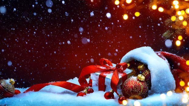 Photo free decoration, Christmas decoration, background