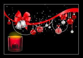 Фото бесплатно Рождество обои, дизайн, Рождественская открытка