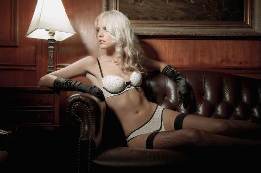 Фото бесплатно сексуальный Devushka, Blondinka, красота