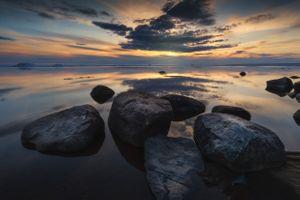 Вечернее спокойствие · бесплатное фото