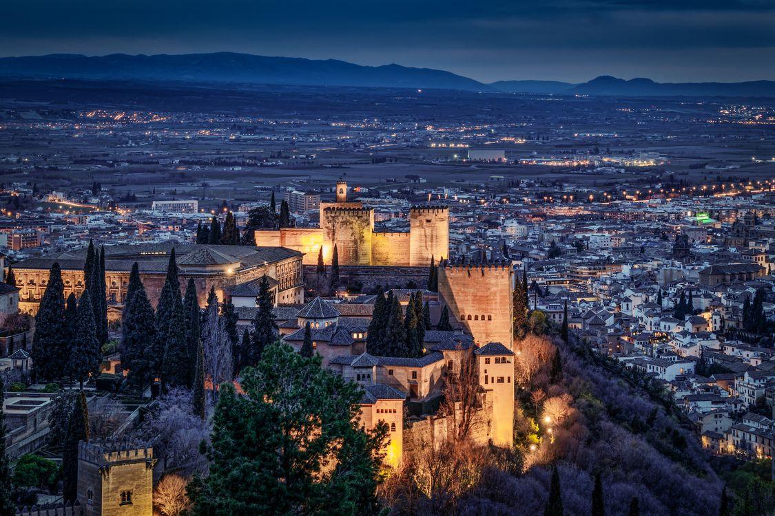 Фото бесплатно Alhambra, Гранада, Испания - на рабочий стол