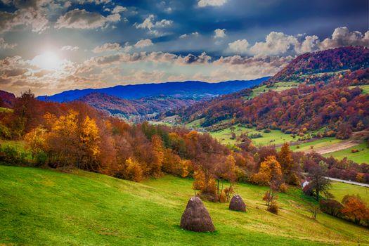 Фото бесплатно landscape, hills, mountains
