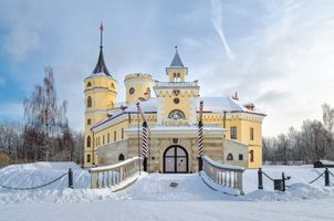 Замок Бип в Павловске 3 · бесплатное фото