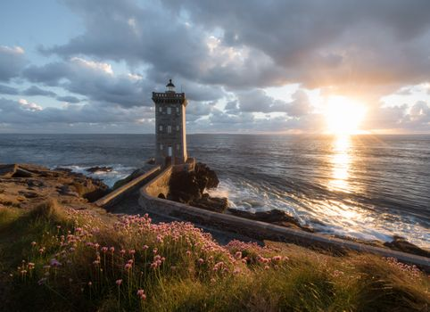 Photo free lighthouse, coast, sunbeam