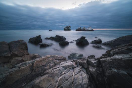 Вид на скалы Монах и Три Сестры · бесплатное фото