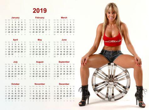 Бесплатные фото Ульяна salimeni,Жужу,бразильский,Бразилия,декольте,латина,колесо,календарь,2019,загорелый,улыбка