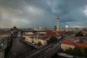 Thunderstorm in Berlin
