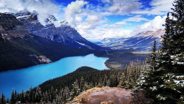 Photo free clouds, Banff National Park, Alberta