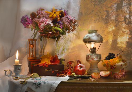 Photo free flowers, still life, autumn