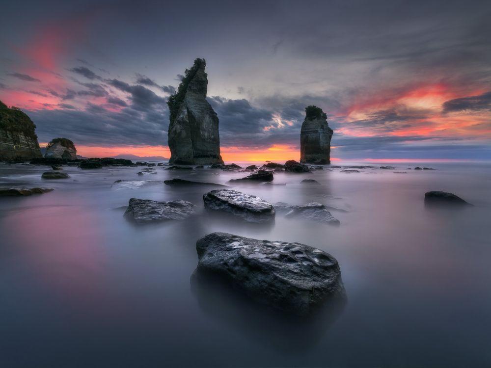 Фото бесплатно australian landscape, tasman national park, tasmania - на рабочий стол