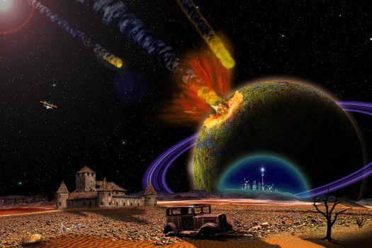 Заставки конец адмории, армагеддон, взрыв