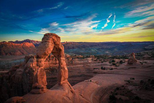 Фото бесплатно камень, небо, простор