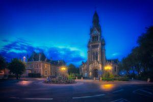 Фото бесплатно церковь Сен-Пьер-Сен-Поль, Франция, Город Эперне
