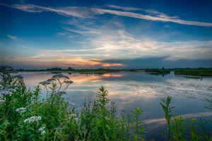 Фото бесплатно природа, озеро, небо