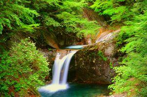 Заставки река, природа, Япония