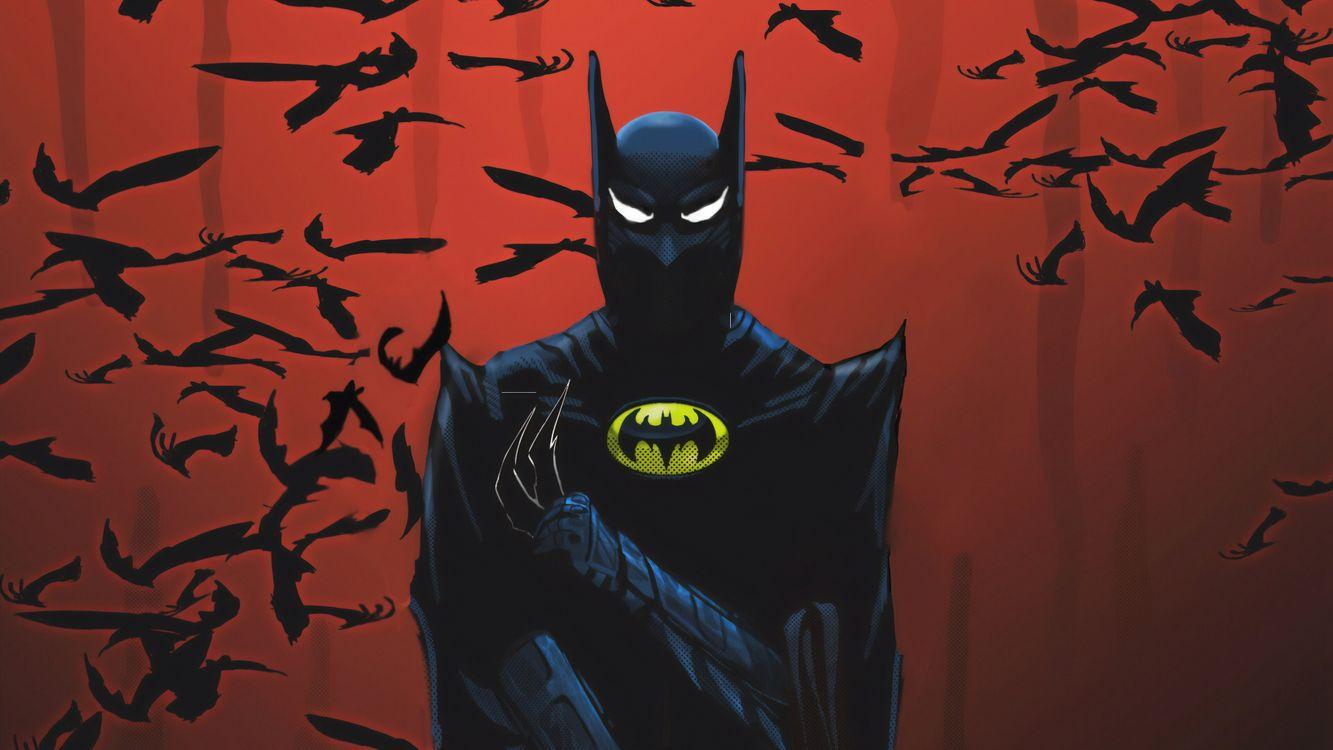 Фото бесплатно Batman, супергерои, Portrait - на рабочий стол