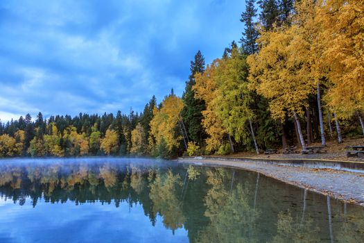 Photo free Dutch Lake, Canada, autumn