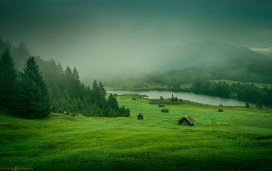 Фото бесплатно Geroldsee, Германия, Бавария