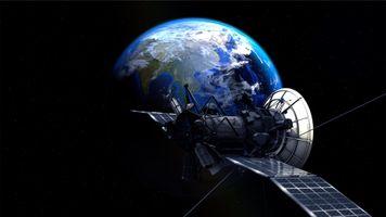 Фото бесплатно satellite, earth, planet, universe, atmosphere, space travel, star, space, celestial body, astronomy