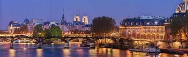 Фото бесплатно Париж, освещение, ночь