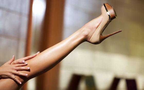 Фото бесплатно ноги, каблуки, высоко