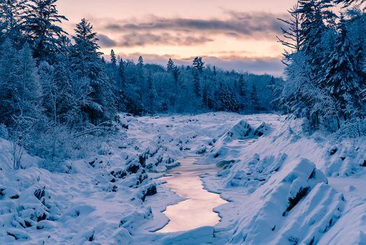 Фото бесплатно Winter on the St Louis River, Jay Cooke State Park, Minnesota