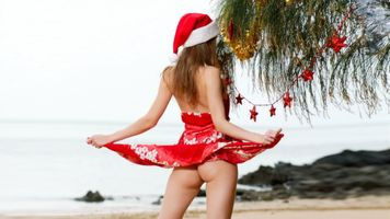 Photo free beach, Christmas, Irina buromskih