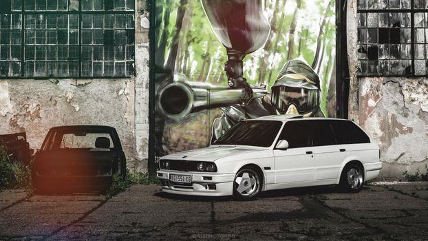 Photo free Bmw E30, cars, BMW