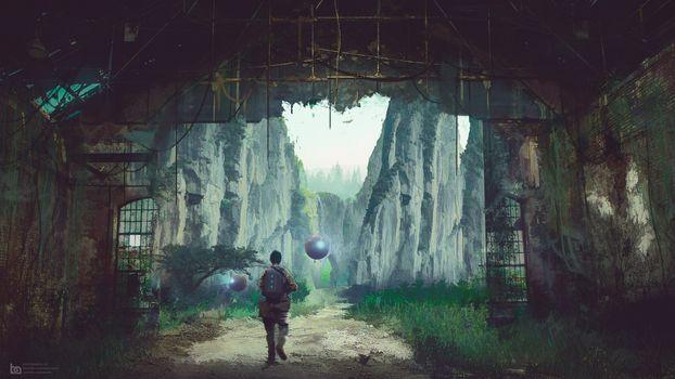 Фото бесплатно футуристический, новая планета, Дискавери