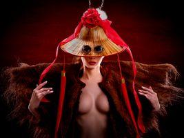 девушка и очки · бесплатное фото