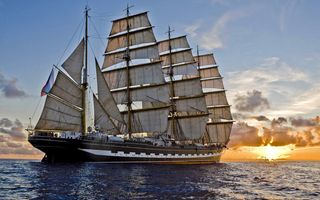Photo free sailing, sea, sailboat