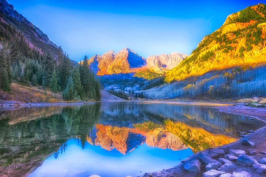 Photo mountains Colorado landscape - free pictures on Fonwall