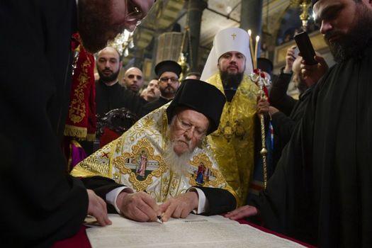Бесплатные фото Варфоломей,Епифаний,Томос,Константинополь,автокефалия,Украина,православие,церковь