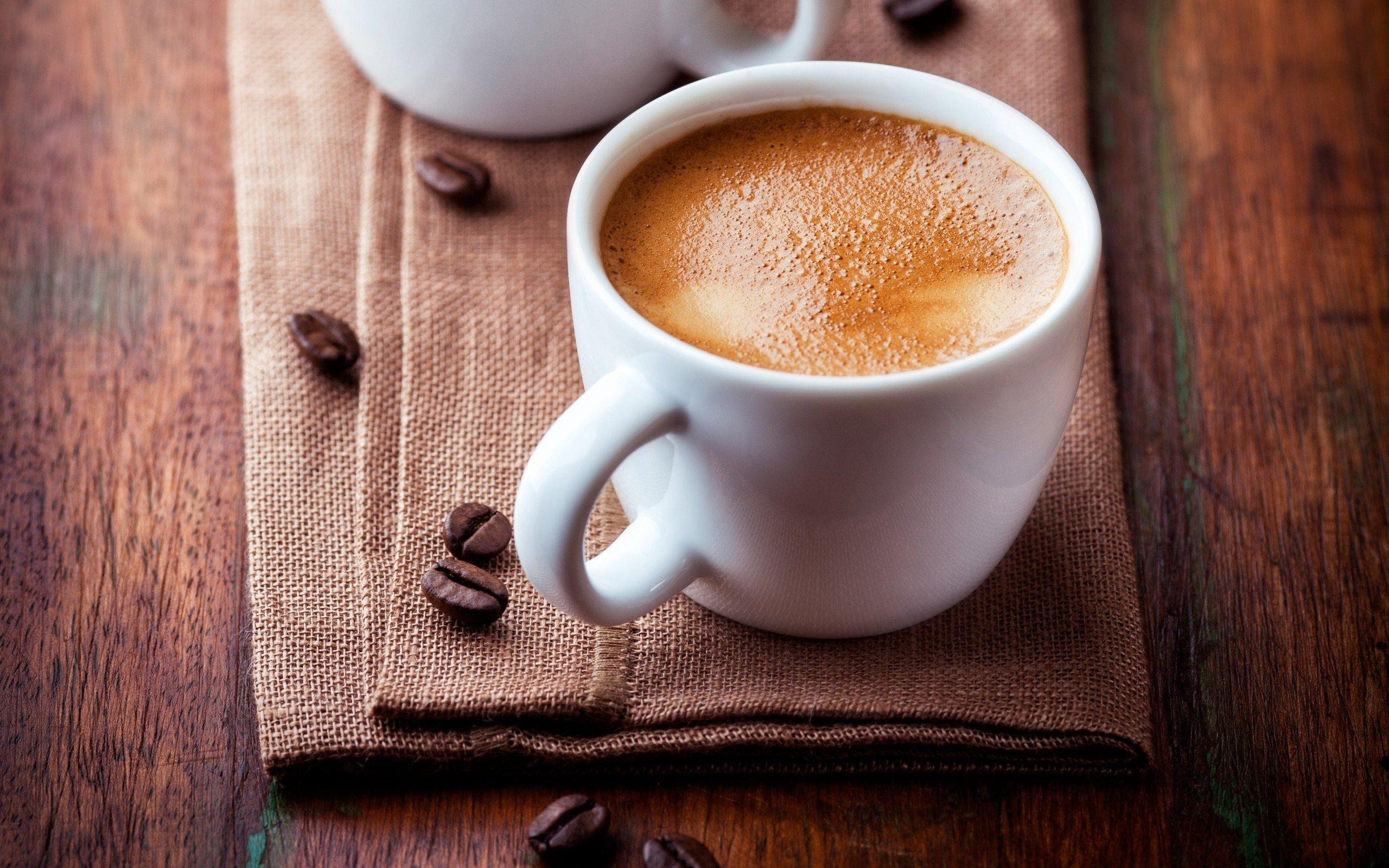 фото чашка утреннего кофе с ним