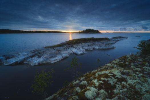 Dawn on the Ladoga Skerries · free photo