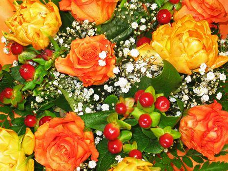 Фото бесплатно флора, цветочные, Красивый букет