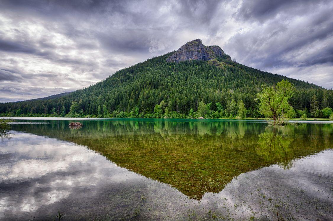 Фото бесплатно Rattlesnake Ledge, Сиэтл, штат Вашингтон, озеро, горы, деревья, облака, небо, отражение, пейзаж, пейзажи