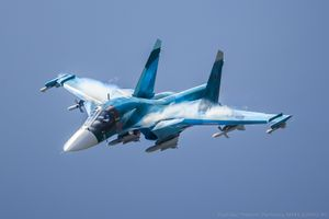 Бесплатные фото aircraft,military aircraft,sukhoi su-34,russian army,army