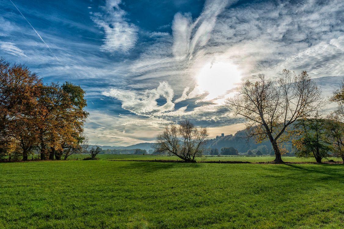 Фото бесплатно Hattingen, Germany, поле - на рабочий стол