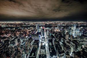 Заставки New York, город, ночь